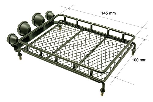 gadget place metal roof rack luggage storage basket with. Black Bedroom Furniture Sets. Home Design Ideas