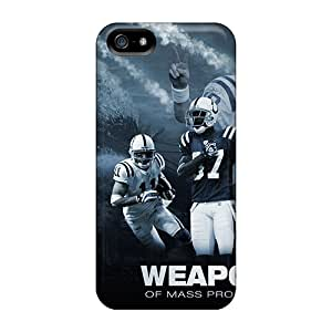 IanJoeyPatricia Iphone 5/5s Durable Cell-phone Hard Covers Unique Design Stylish Indianapolis Colts Image [KZE14281ZDob]