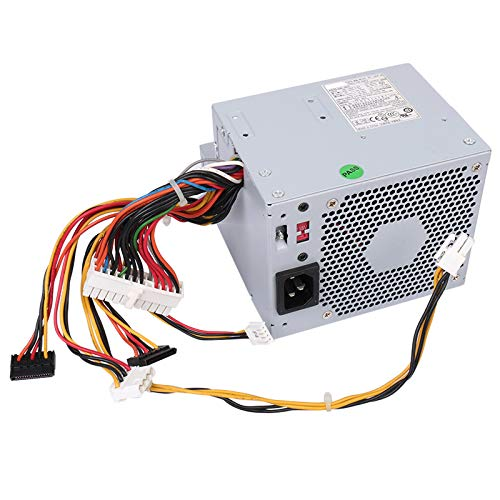 Li-SUN 280W Power Supply Replacement for Dell Optiplex GX520 GX620 740 745 755 210L 320 330/ Dimension C521 3100C GX280 (P/N: MH596 MH595 RT490 NH429 P9550 U9087 X9072 NC912 JK930) (Dell Optiplex Gx520 Power Supply)
