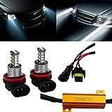 Car Light,Tuscom@ H11 3535 Chip High Power LED 6000K Xenon White Fog Light Lamp
