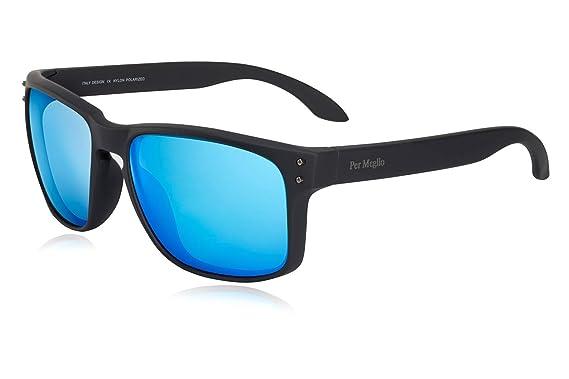 Polarized Sunglasses for Men 100% UV Protection Wayfarer Sun Glasses for  Driving Men Clear Vision