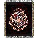 "Northwest Harry Potter,Hogwarts Décor Metallic Woven Tapestry Throw Blanket, 48"" x 60"""