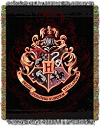 Harry Potter, Hogwarts Décor 48-Inch-by-60-Inch Acrylic Tapestry Throw by The Northwest Company