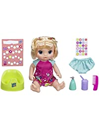 Potty Dance Baby: Talking Baby Doll with Blonde Hair,...