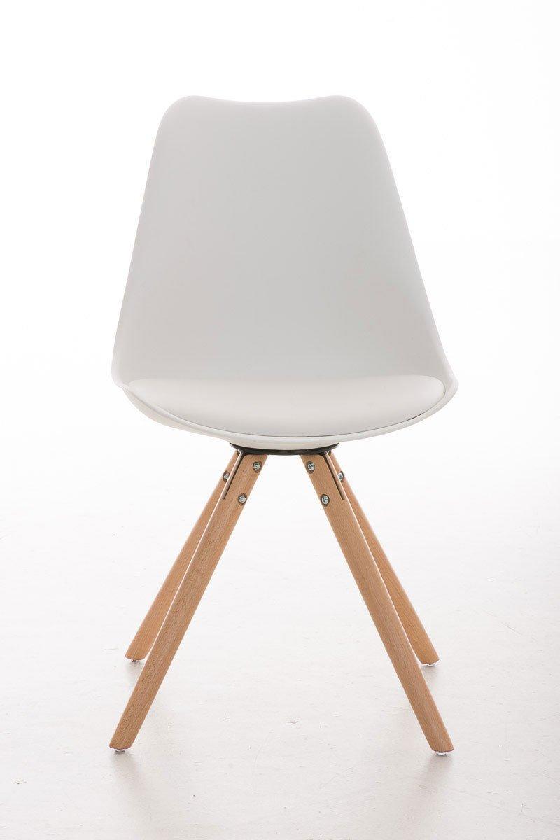 Design Stühle clp design retrostuhl pegleg mit hochwertiger polsterung und
