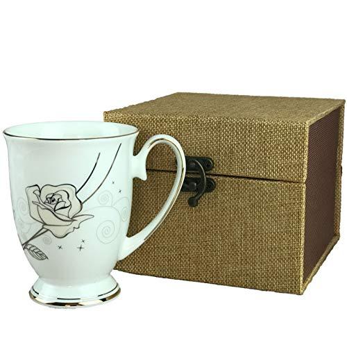 Royal Fine Bone China Coffee Mug or Tea Cup Gift box packing 11 oz