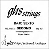 GHS BSX2 Bajo Sexto Guitar String Pair