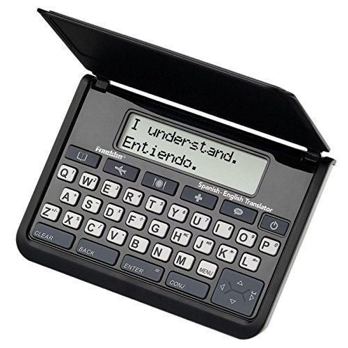 Franklin TES-121 Spanish-English Phrasebook & Translator by Franklin Electronics