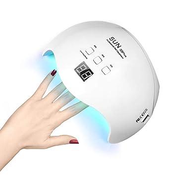 Amazon.com: Nail Polish Curing Lamps, Nail Lamp 48W Led Lamp for ...
