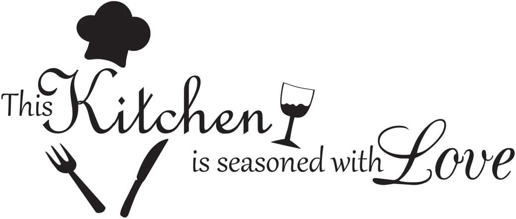 I Love Cooking with Wine Cute Decor vinyl wall decal quote sticker Inspiration