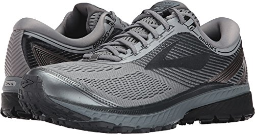 Brooks Men's Ghost 10 Primer Grey/Metallic Charcoal/Ebony 7 D US by Brooks