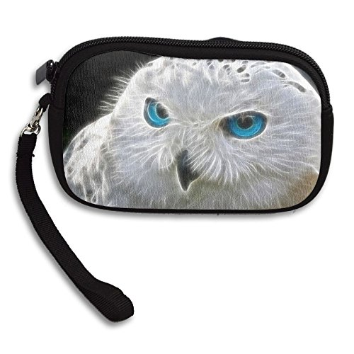 White Small Animal Purse Portable Paintings Bag Receiving Cool Printing Deluxe Owl 75xq441wA