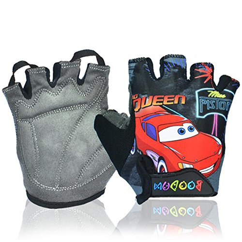 Od-sports Children Road Bike Gloves Breathable Riding Half Finger Mountain Bicycle MTB Cycling Gloves for Kids Boys Girls Sports Gloves (Black, - Deals Online Black India Friday