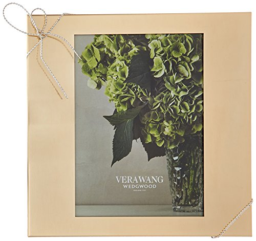 Wedgwood Vera Wang Love Knots Frame, 8 by 10, Gold