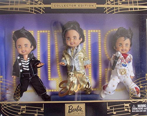 Barbie TOMMY as ELVIS PRESLEY w 'Jailhouse', 'KING of ROCK & ROLL' & 'Aloha' COLLECTOR EDITION (2003)