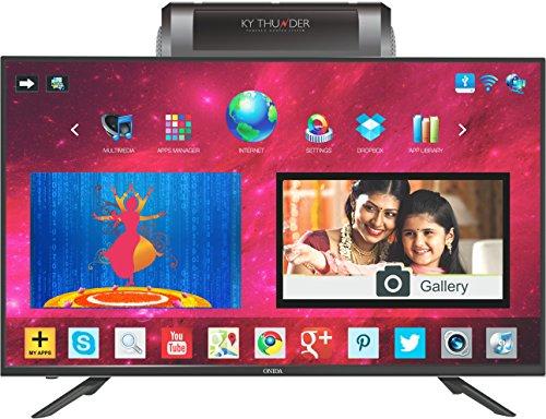 Onida 127 cm (50 inches) Thunder Series LEO50KYFAIN Full HD Android Smart TV (Black)