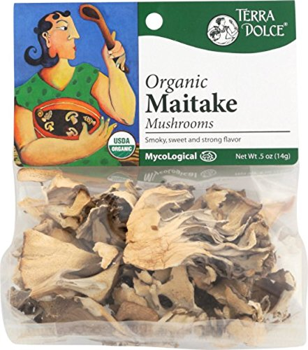 Terra Dolce Organic Maitake Mushrooms, 0.5 Ounce by Terra Dolce