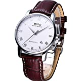 Mido Baroncelli Leather Automatic Mens Watch M8600.4.26.8
