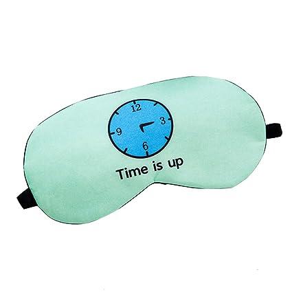 Cupcinu Máscara sueño Máscara de hielo Mascara para los ojos Gafas de dormir de viaje de