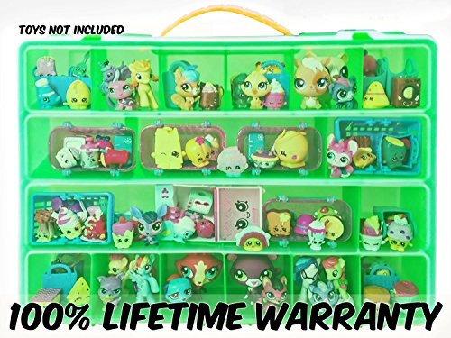 Shopkins Compatible Organizer-My Shoppin Bin Is The Perfect Shopkins Compatible Storage Box-Fits Up To 200 Shopkins Characters & 50 Shopping Bags or Baskets-Sturdy Case And Carrying (Golden Globe Costume)
