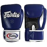 Fairtex Muay Thai Style Sparring Gloves, Blue, 12-Ounce