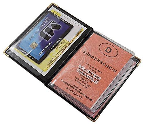 Marrone design 1 Mj Ue Tasche Credito 4 design Carte germany Design D'identità Colori Porta 10 Made Di Designs Nero Diversi E In nga1xBFq
