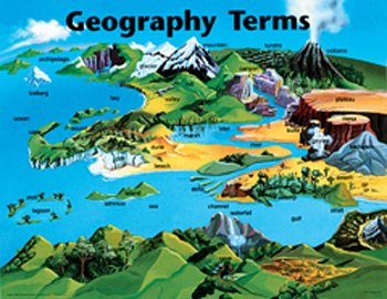 Geography Crossword #1 - basic geographic terms by swintrek ...