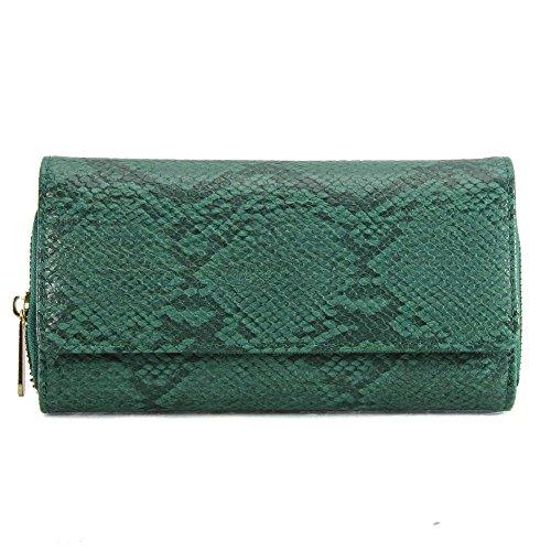YourDezire - Monedero de Material Sintético  mujer - verde