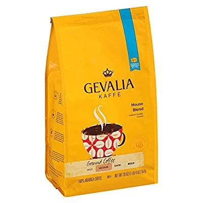 Gevalia House Blend Coffee, Medium Roast, Ground, 20 Ounce Bag