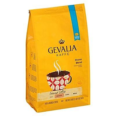 Gevalia House Blend Coffee, Medium Roast, Ground, 20 Ounce Bag