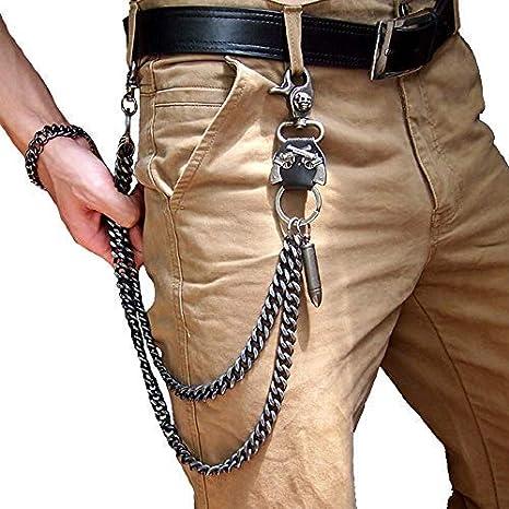 Cadenas de cintura pesadas, para hombres, moteros, Hip Hop ...