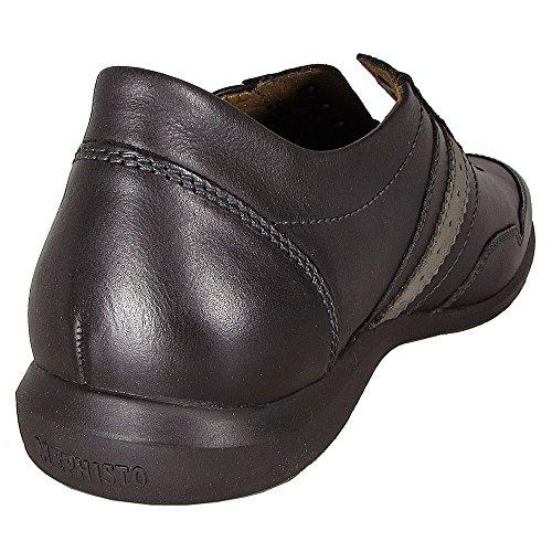 Mephisto Mens Bonito Sneaker Scarpa Nera