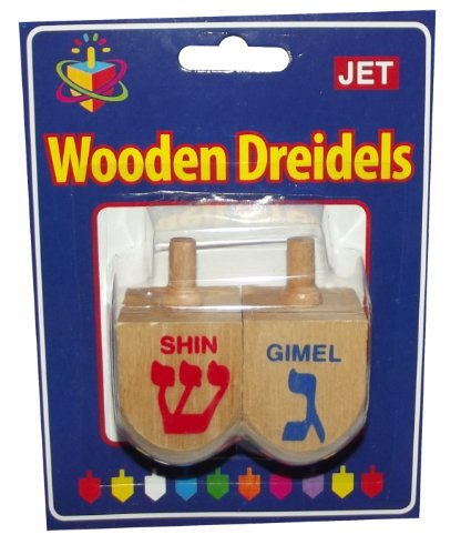 Wooden Dreidel-2 pack