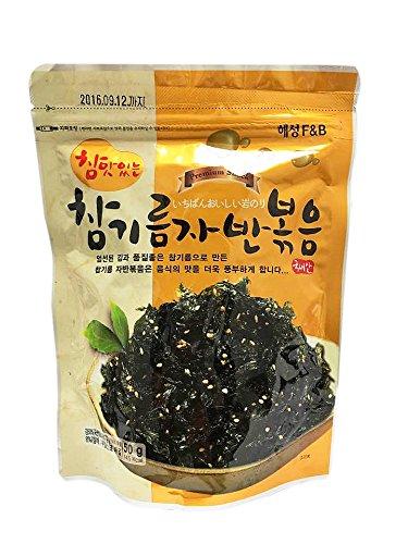 Korean Premium Roasted and Sea Salted Seasoned Seaweed Laver Snack 50g