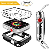 DesertWest Apple Watch Case 42mm, TPU Screen Protector for...