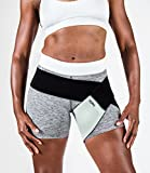 body helix Groin Muscle Support - Adjustable Groin Compression Wrap - Provides Exceptional Support to Injured Groin (Silver)