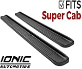 Ionic Factory Style (Fits) 2004-2014 Ford F150 SuperCab Only Running Boards Side Steps (3800793048)
