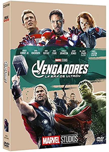 Vengadores: La Era De Ultrón - Edición Coleccionista DVD: Amazon.es: Robert Downey Jr., Chris Hemsworth, Mark Ruffalo, Scarlett Johansson, Chris Evans, Samuel L. Jackson, Joss Whedon, Robert Downey Jr., Chris Hemsworth: Cine