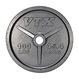 VTX by Troy Barbell Olympic 100 lb. Weight Plate
