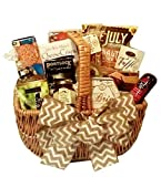Gourmet Goodies Basket by Goldspan Gift Baskets (Large)