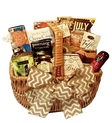 Gourmet Goodies Basket by Goldspan Gift Baskets (Large) by Goldspan Gift Baskets