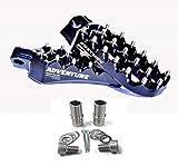 Fastway ADVENTURE Footpeg Kit - BLACK - Honda CRF250R, CRF250X, CRF450R, CRF450X _22-3-ADVBKS 22-3-1031S