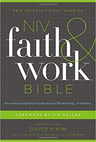NIV, Faith and Work Bible, Hardcover: Zondervan