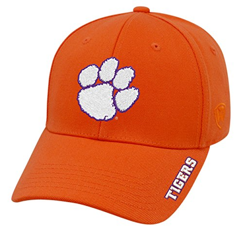 Clemson Tigers Bowl Game - Top of the World NCAA-Premium Collection-One-Fit-Memory Fit-Hat Cap-Clemson Tigers