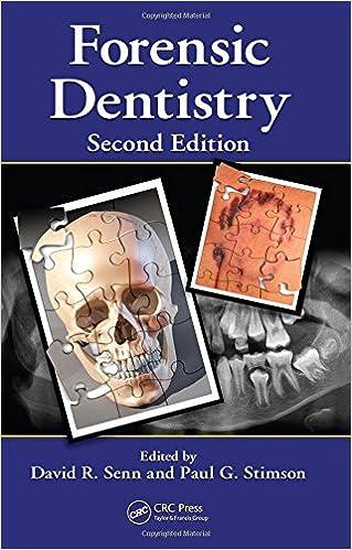 Forensic Dentistry 9781420078367 Medicine Health Science Books Amazon Com