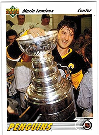 a3fbf68ca 1991-92 Upper Deck Pittsburgh Penguins 1991   92 Stanley Cup Champs Team  Set with