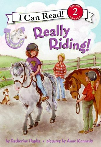 Read Online Pony Scouts: Really Riding! (I Can Read Book 2) ebook