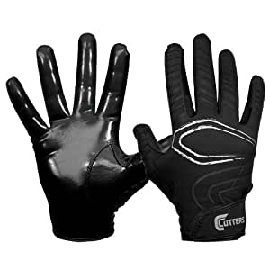 Cutters Gloves REV Receiver Glove (Pair), Black, Small