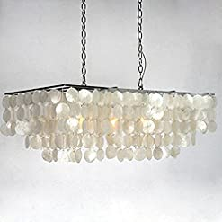 51Nha9OVznL._SS247_ 150+ Beach Chandeliers and Coastal Chandeliers