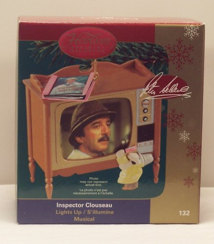 The Pink Panther - Inspector Clouseau - Peter Sellers Carlton Cards 2006 Musical Christmas Ornament ()